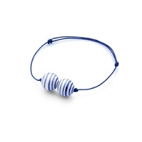 Stripes bracelet in blue