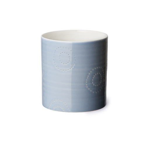 Seam tealight candle cup